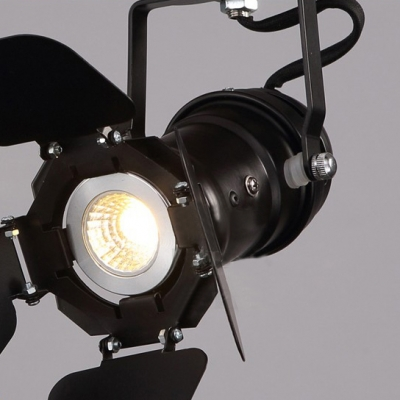 Industrial Style LED Close to Ceiling Spotlight Task Lighting