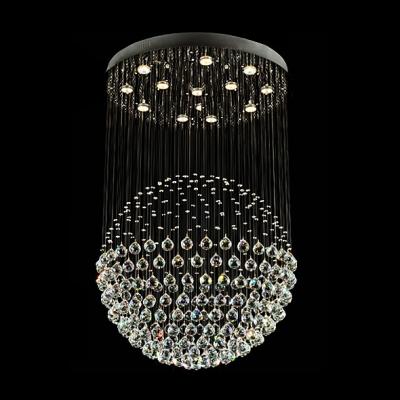 Plentiful crystal balls suspension together 13 light large 236high plentiful crystal balls suspension together 13 light large 236 aloadofball Gallery