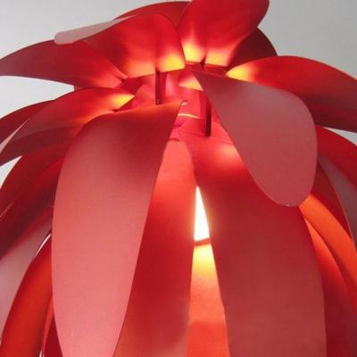 Red Leaves Coveing Shade Designer Pendant Lighting