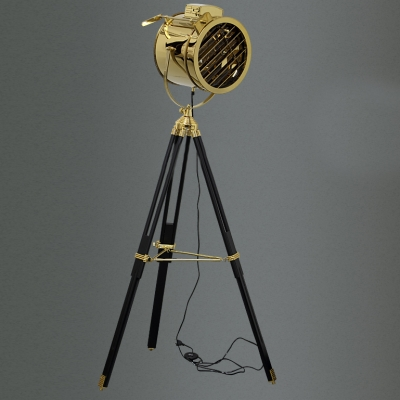1 Light LED Floor Lamp Gold Lamps Floor Lamps Tripod Lamps ...