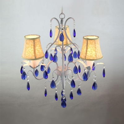 Beautiful Blue Crystal Drops 19.6