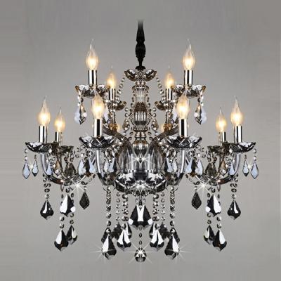 """Elegant and Splendid Large 32.2""""Wide 12-Light Dining Room Chandelier Light"""