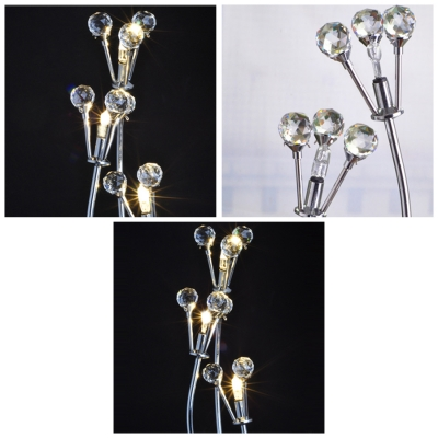 Lovely Look to Accent Table Lamp With Precise Detail Offers Shimmering Sparkle