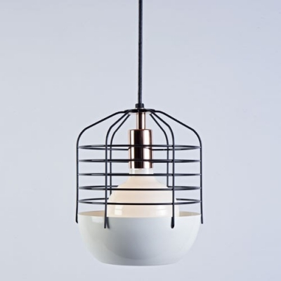 Blue Iron Cage Designer Mini Pendant Lighting