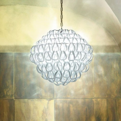Clear Ring Shaded  Creative Mini Pendant Light