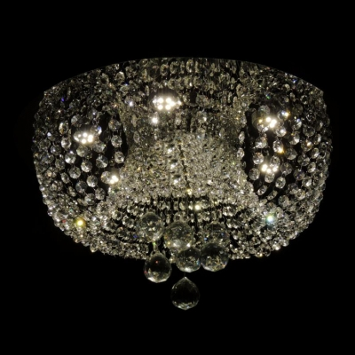 Glittering Crystal Beads and Balls 6-Light 9.8