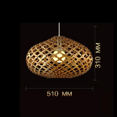 "Novelty Oval Brilliant Designer Pendant Light For Dinning Room 20""Wide"