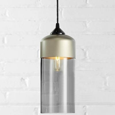 Retro Champagne Socket Industrial LOFT Pendant Light in Different Color