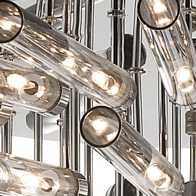 Blooming Large LED Bar Flower Shape Modern  Close To Ceiling Light