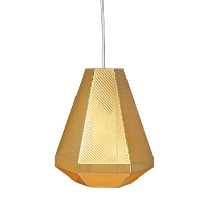 Pendant Light Cell Tall Golden