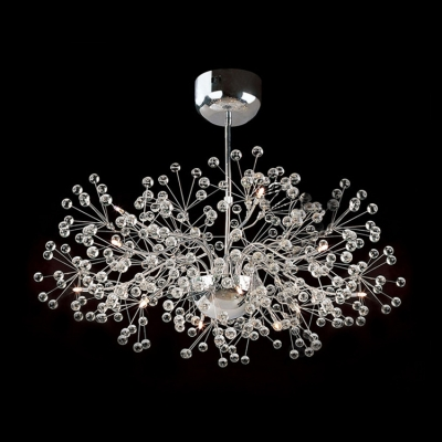 exquisite lighting. Wonderful And Exquisite Clear Crystal Small Globes Burst Whimsical Pendant Lighting X