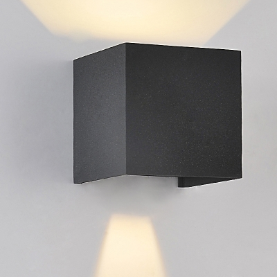 Adorable and chic wrought iron 393wide designer cube wall light adorable and chic wrought iron 393wide designer cube wall light aloadofball Images