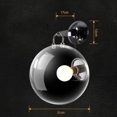Chrome Finished Modern Designer Beautiful Bubble Wall Light