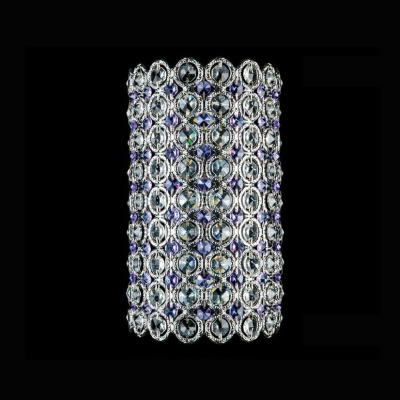 Exquisite Crystal-embellished Wall Sconce Merits Glamour to Any Area