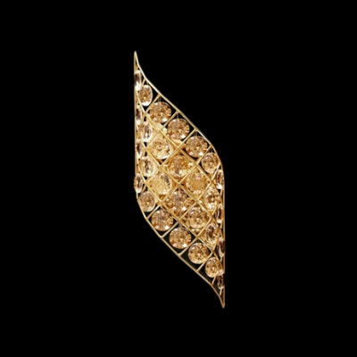 Make Elegant Crystal Wall Sconce the Highlight of Your Hall or Room