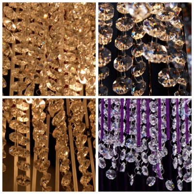 Stunning Pendant Light Full of Chic and Grace Features Glamorous Crystals