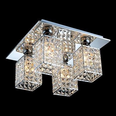 """17.7""""Wide Brilliant Design Crystal Beaded Flush Mount Ceiling Lights"""