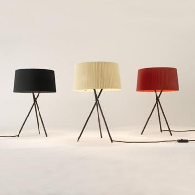 Tripod Base Design Elegantly Drum Shaded Designer Floor Lamp