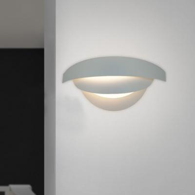Beautiful Three Tiers Soft and Modern White Designer Wall Lights