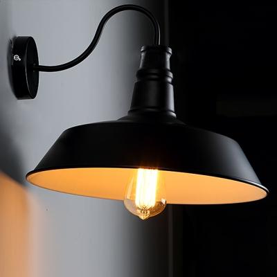 14'' Wide Single Light Down Lighting Gooseneck Barn Wall Light