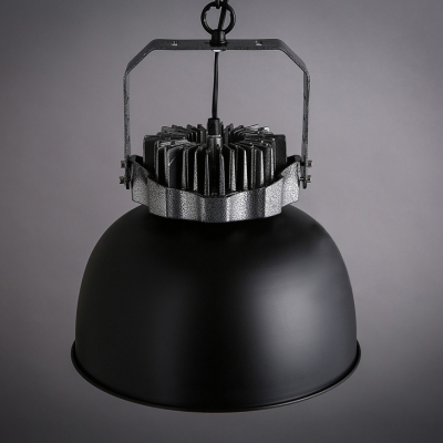 Bold Design Black/Rust Wrought Iron Antique Industrial Light for Bar