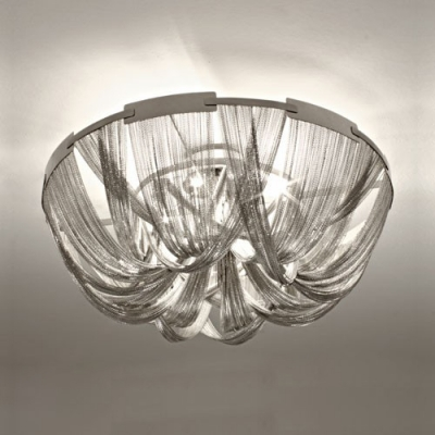 Close To Ceiling Lights: Brilliant Designer Lighting Chain Hanging Close to Ceiling Light,Lighting