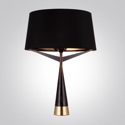 Fabric Shade Bold Design Table Lamp 9.4