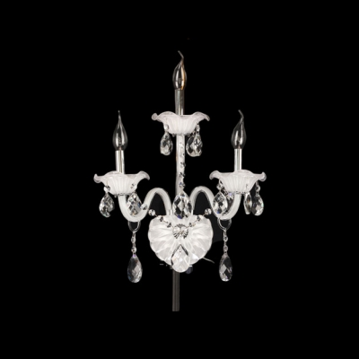 Grand Wall Sconce Offers Timeless Style and Presence with Beautiful Crystal Detailing