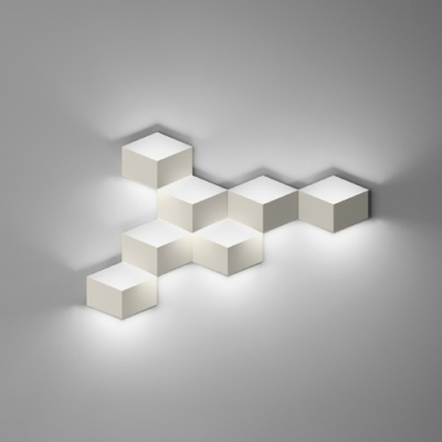 Wall Light in Designer Style Trendy And Exquisite Seven Cubes
