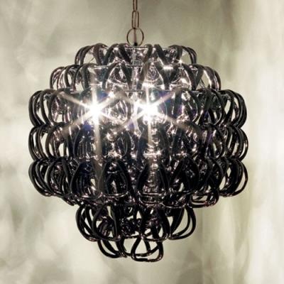 Black Ring Shaded  Creative Pendant Light