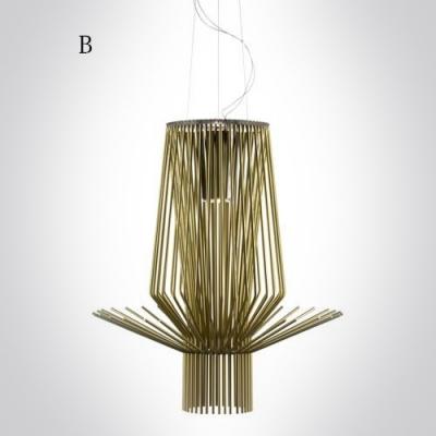 Brilliant Design and Novelty Designer Natural Rattan Large Pendant Light