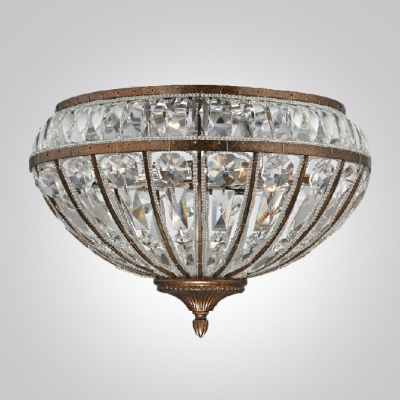 Elegant Iron Frame Gives Sparkling Crystal Wall Sconce Look of  Magnificent Vintage Find