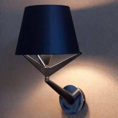 Fabric Shade Bold Design Wall Light 11.8
