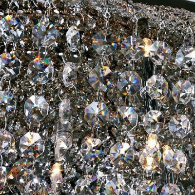 Geometrical Shaped Glittering Crystal Beaded Strands 27.5