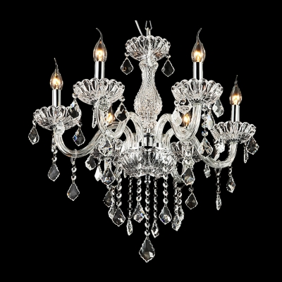 Sumptuous 6-Light Crystal 23.6
