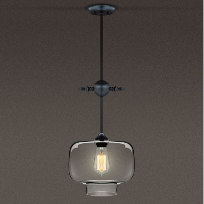 Adjustable Chain  Industrial Colored LOFT Glass Chandelier Pendant