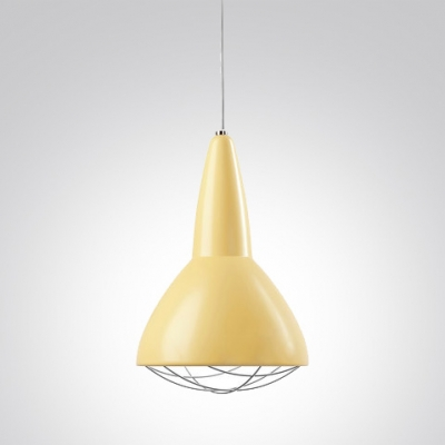 "Bowl and Cage Bold Design 5.9""Wide Designer Mini Pendant Light"