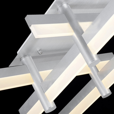 Medium LED Bar Modern Cool Lighted Flush Mount Ceiling ...
