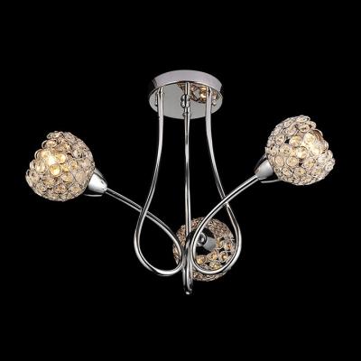 Fashion Style Semiflush Mount Crystal Lights Beautifulhalocom