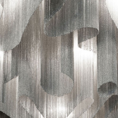 Hanging Chain Pendant Chandelier by Modern Designer Lighting