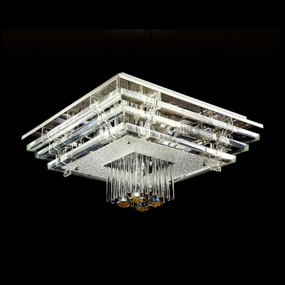Luminous and Grand Stainless Steel Canopy 18.8