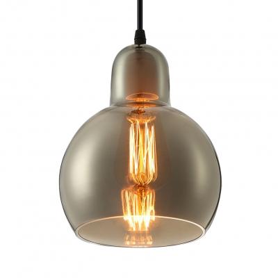 Mini bowl classic glass charming designer pendant lighting clear aloadofball Choice Image