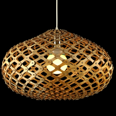 Novelty Oval Brilliant Designer Pendant Light For Dinning Room 20Wide