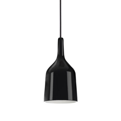 Wine Cup Mini Pendant Light in Black by Designer Lighting
