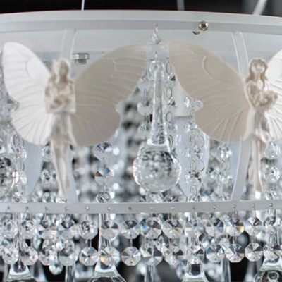 Butterflies and Teardrop Crystal Balls Adding Some Chic Feeling to this 18.1