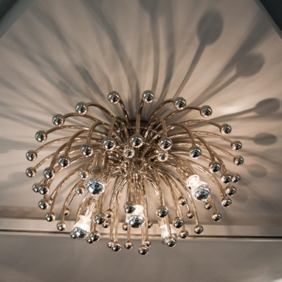 Chrysanthemum Modern Downward Close To Ceiling Light