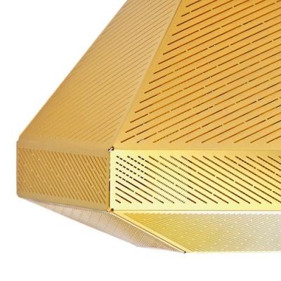 Golden Pendant Light Cell Short