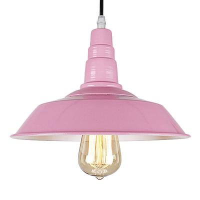 Pink barn style pendant lighting beautifulhalo pink barn style pendant lighting mozeypictures Choice Image