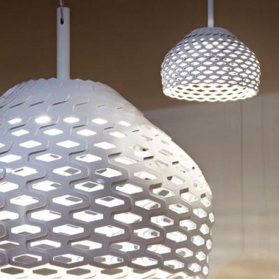 Lattice Polycarbonate Pendant Light