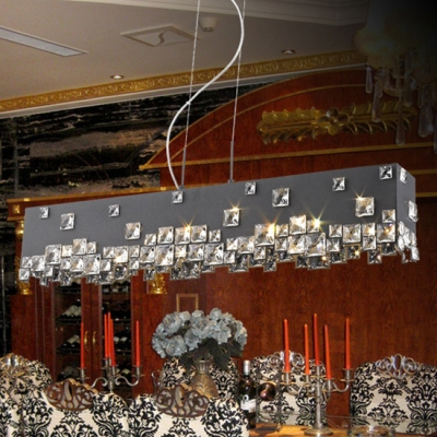 Update Your Favorite Room or Area with Distinctive Large Black Chandelier